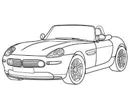 Bmw Z8 Cabriolet Kleurplaat Gratis Kleurplaten Printen