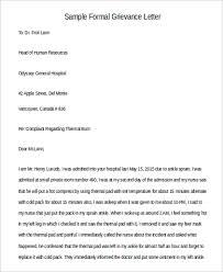 102 Letter Format Samples Sample Templates