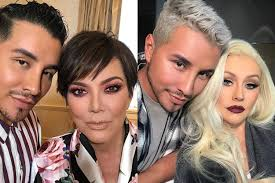 celebrity hair stylist and makeup artist etienne ortega has quite the roster of big name clients from kris jenner and christina aguilera to