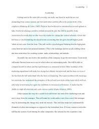 leadership essays co leadership essays