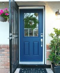 How To Paint A Front Door {Without Removing It} - Classy Clutter