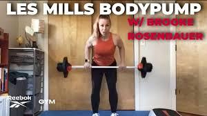 les mills bodypump w brooke rosenbauer