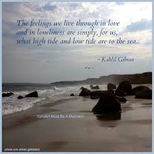 Love And Loneliness Just Saying Khalil Gibran Quotes Love