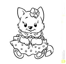 Printable Cat Coloring Pages For Kids At Getdrawingscom Free For