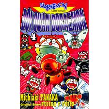 Sách - Đội Quân Doraemon Tập 4, Giá tháng 4/2021