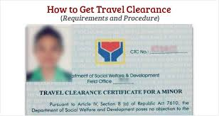 How To Get Travel Clearance Philippine Clearances