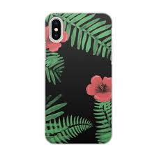 Чехол для iPhone X/XS, объёмная печать <b>Tropical</b> #2734781 ...