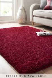 Image Grey Nextcouk Red Rugs Red Shaggy Short Pile Rugs Next Uk