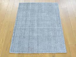 fascinating 2 x3 rug brilliant decoration 2x3 tone on hand loomed grey wool and bamboo silk