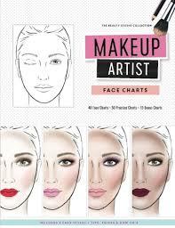 Amazon Com Makeup Artist Face Charts The Beauty Studio