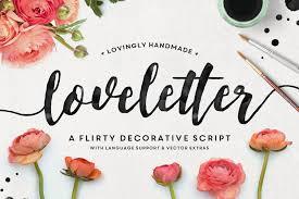 Love Letter Free Download Loveletter Font Kreativ Font