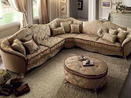 classic linen fabric photo in fabric sectional sofas