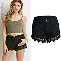 Hot Pants <b>Spring</b> And <b>Summer Lace</b> Shorts Hook Flower <b>Hollow</b> ...