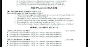 Objective For Cna Resume Impressive Sample Cna Resume With No Experience Resume Sample With No