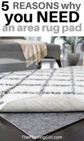 why you need an area rug pad and the best one for hardwood floors