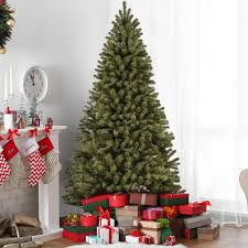 9FT PreLit Spruce Hinged Artificial Christmas Tree W 900 UL Artificial Christmas Tree 9ft