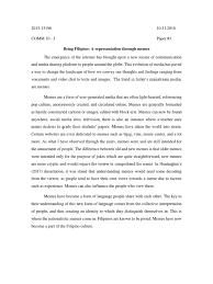 Comm 10 Paper 3 Meme Mass Media