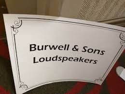 Resultado de imagen de Burwell & Sons Loudspeakers logo