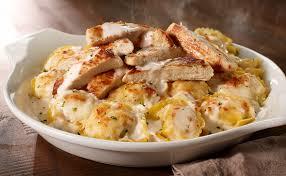 Way to throw us a bone, og. Asiago Tortelloni Alfredo With Grilled Chicken Lunch Dinner Menu Olive Garden Italian Restaurant