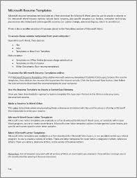 How To Make Resumes On Word 49 Awesome How To Create A Cv Template In Word Malcontentmanatee