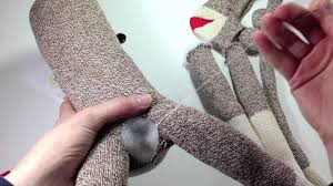 Sock Monkey Pattern Beauteous How To Make A Sock Monkey Tutorial Using A Presewn Kit From