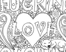 Small Picture Love coloring Etsy