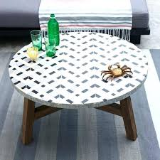 mosaic outdoor table top how diy outdoor mosaic table top