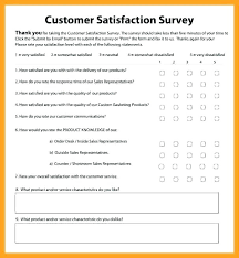 Customer Satisfaction Survey Template Impressive Customer Satisfaction Survey Questions Pdf Sample Questionnaire