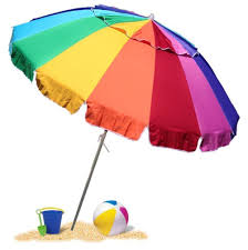 beach umbrella. Fine Umbrella EasyGo HEAVY DUTY Beach Umbrella  Giant 8u0027 Rainbow Heavy  Duty Design Includes To