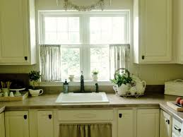 Valance For Kitchen Windows Modern Valance For Kitchen Roselawnlutheran