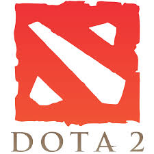 dota 2 logo vertical great videogames related logos