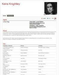 Resume Examples For Actors - Free Letter Templates Online - Jagsa.us