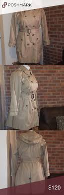 London Fog Double Breasted Water Repellant Trench Color