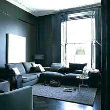 light grey walls living room wall ideas dark gray blue color scheme feature