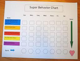 behavior charts for 7 year old magnetic or write on wipe off behavior chart beatnik kids