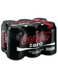 Buy Coke Light Online Coke Zero 300ml Cans 6 Pack
