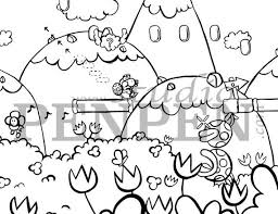 Coloring pages for yoshi (video games) ➜ tons of free drawings to color. Yoshi S Island Make Eggs And Throw Eggs Coloring Pages Etsy