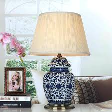 vintage style table lamps vintage style porcelain ceramic desk table lamps for bedside blue and white vintage style table lamps