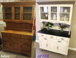 dining buffets and hutches. jill janine\u0027s hutch - before and after. white color is a custom mix of annie dining buffets hutches