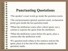 Punctuation Inside Or Outside Quotes Nhathongminhaz Net