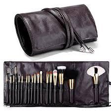 professional cosmetic case makeup brush organizer makeup artist case with belt strap holder multi functional cosmetic bag makeup handbag for travel home