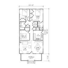 Small House Plans Narrow Lot