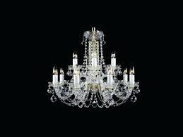 traditional crystal chandelier arm 2 tier frame