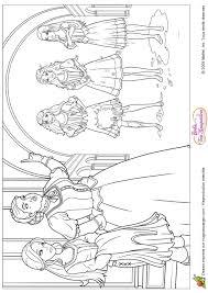 Coloriage Barbie Les 3 Mousquetaires Sur Hugolescargot Com