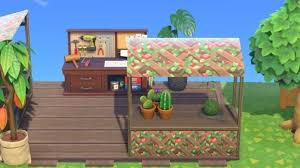 These new buildings bring a number of new amenities to the island. Animal Crossing New Horizons Best Stall Custom Designs
