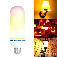 led flicker flame light bulbs move effect fire bulb 3 modes flickering candelabra lig