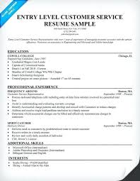 sample retail customer service resume resume examples sample for entry  level customer service regarding retail sales