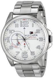 amazon com tommy hilfiger men s 1791006 analog display quartz amazon com tommy hilfiger men s 1791006 analog display quartz silver watch tommy hilfiger watches