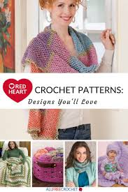 Red Heart Yarn Crochet Patterns