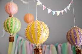 Hot Air Balloon Nursery for Baby K